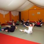 Sala de yoga-pilates