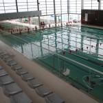 Gradas piscina