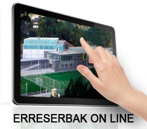 ON LINE ERRESERBA