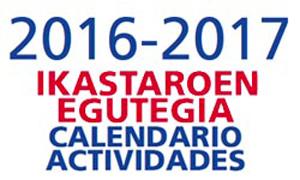 CALENDARIO DE ACTIVIDADES 2016-2017