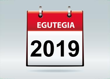 2019 Egutegia